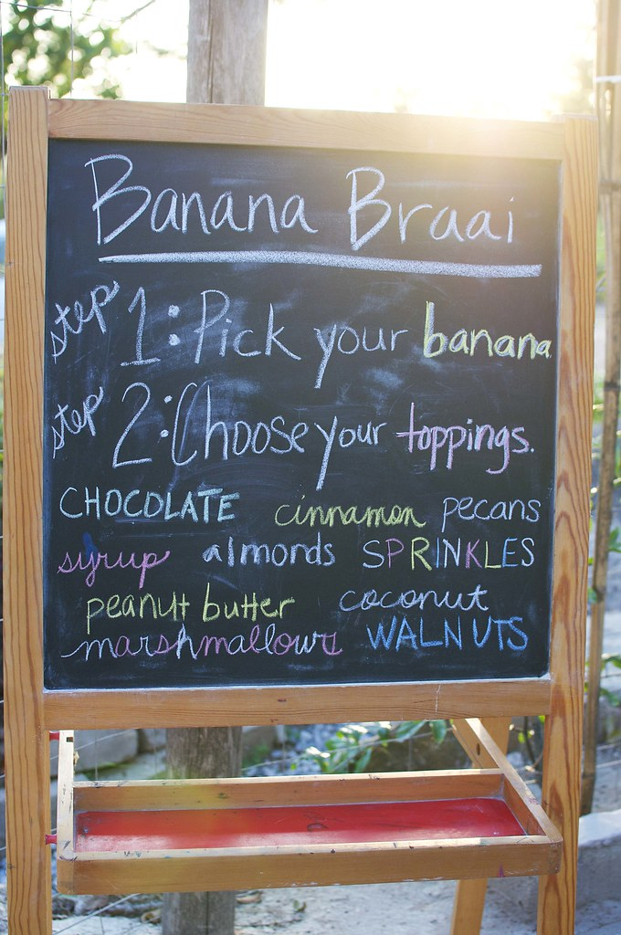 banana braai