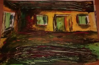 night colours and shades acrylic