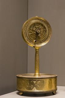 Planispheric astrolabic Clock, ~1560