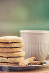 215 - 21: Stem Ginger Shortbread