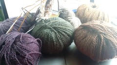 Yarn for my Fiddlehead Mittens