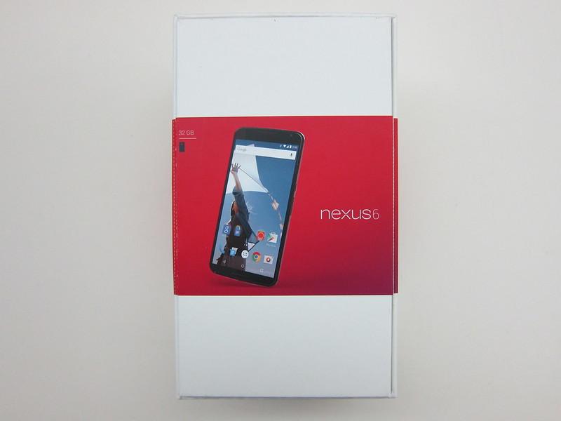 Nexus 6 - Box Back
