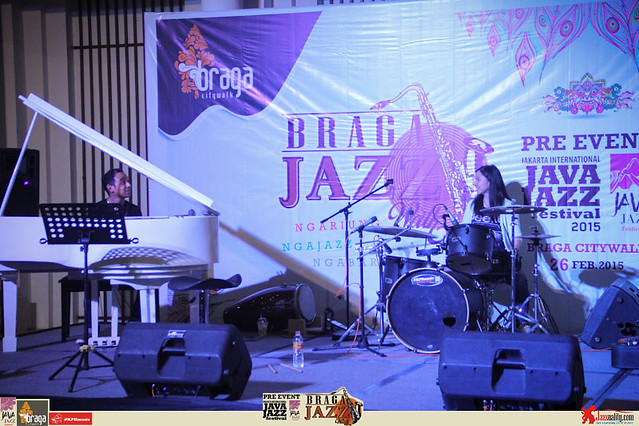 Pre Event Java Jazz Festival 2015 - Braga Jazz Walk Braga CityWalk- Drum Clinic (5)