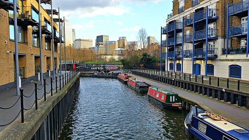 Canal in Limehouse