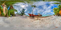 Trouble in Paradise - multimedia virtual tour of Betio, Kiribati in description