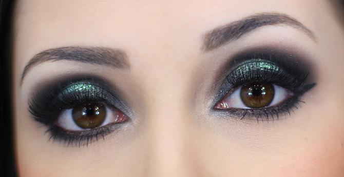 04-maquiagem com pigmento verde blog sempre glamour jana taffarel