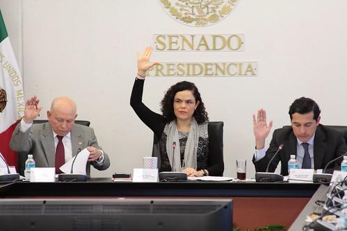 El día 19 de julio del 2016 se llevó a cabo en el Senado de la República la Tercera Comisión Hacienda y Crédito Público, Agricultura y Fomento, Comunicaciones y Obras Públicas.