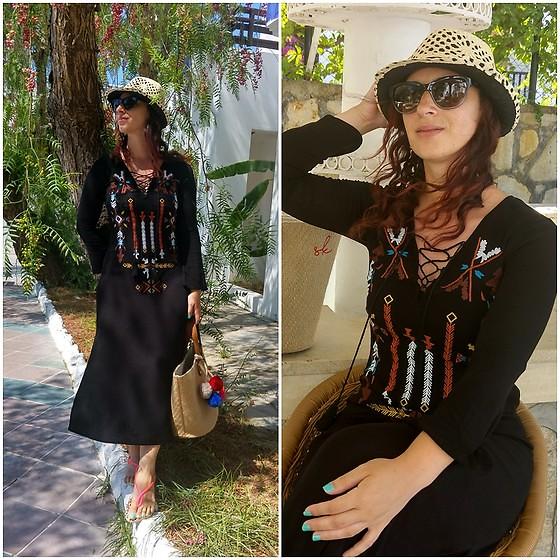 Bohem Dress by Rebel T., Blogger, http://rebeltakipte.blogspot.com from Istanbul, Turkey