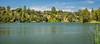 Vasona Lake Panorama by randyherring