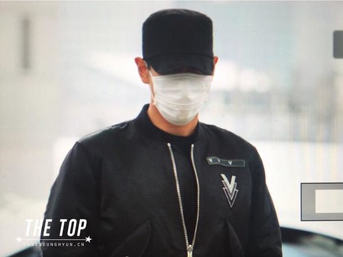 Big Bang - Incheon Airport - 26jun2015 - The TOP - 01