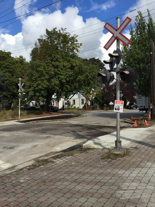 37th Avenue crossing lifted
