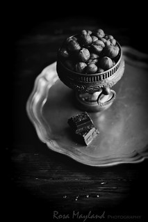 Hazelnut& Chocolate Still Life
