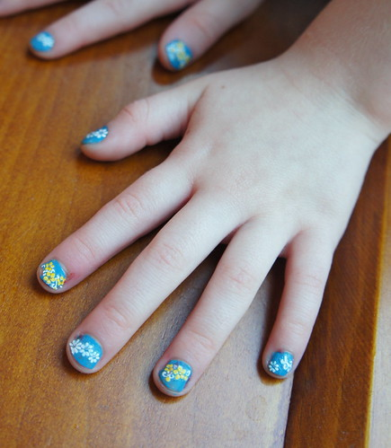 Caitlyn's 5th Birthday Nails