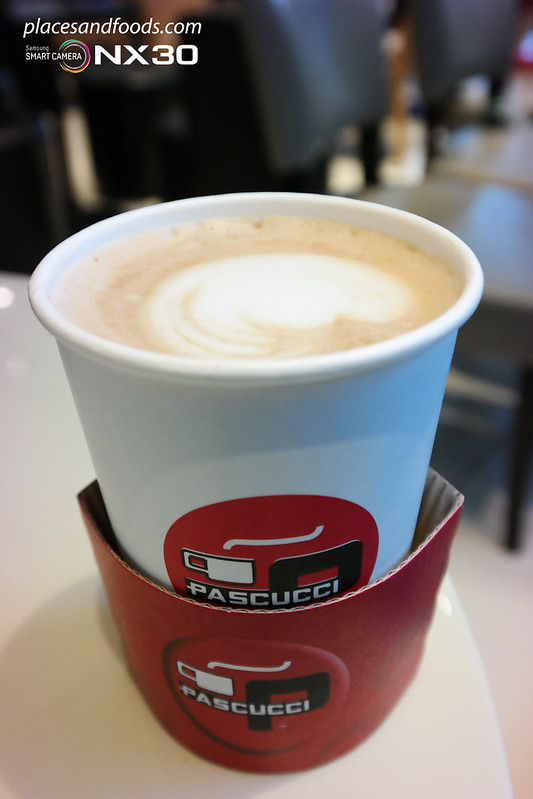 caffe pascucci latte