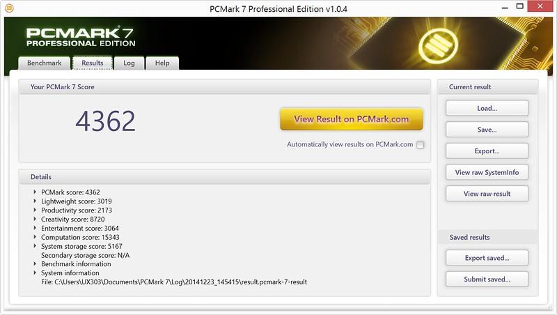 Asus Zenbook UX303LN: Thiết kế siêu mỏng với hiệu năng cao - 58305