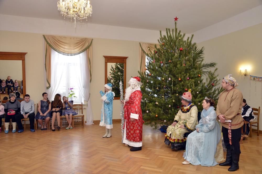 """Новогодние мероприятия в """"Тарханах"""""""