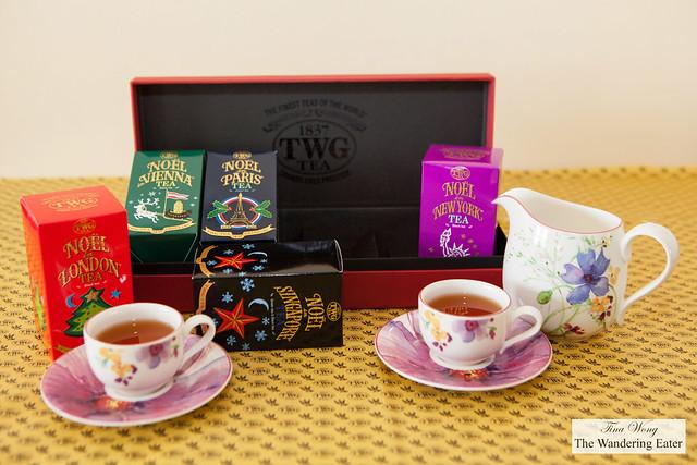 Christmas Around the World Tea Set