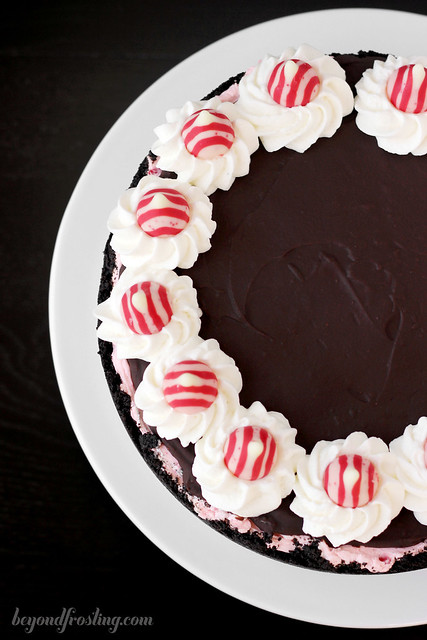 No-Bake Peppermint Cheesecake