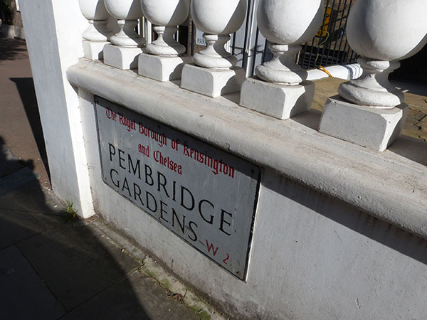 pembridge gardens