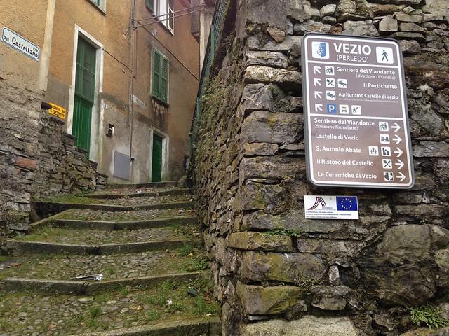 Trail to Castello di Vezio, Varenna, Italy