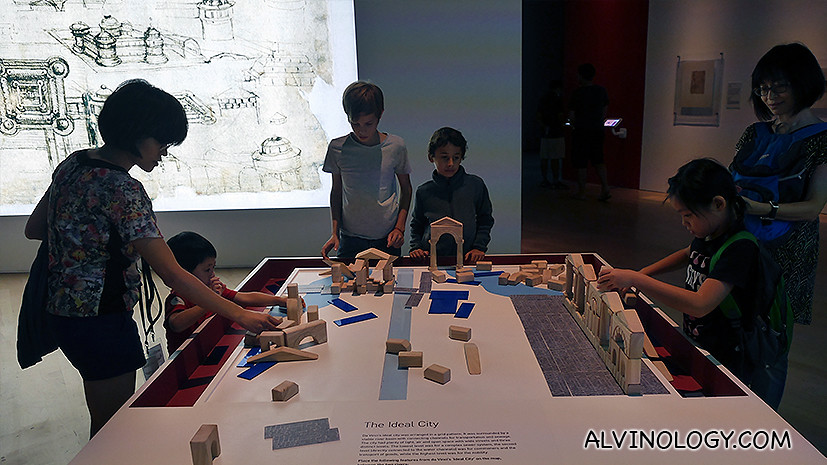 Building blocks to challenge kids' minds