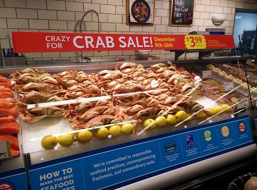 Crazy for Crab Sale