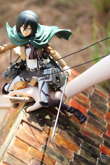 Fdorom the Eren/Mikasa uble review on my blog! https://neveroutgrewtoys.wordpress.com/reviews/