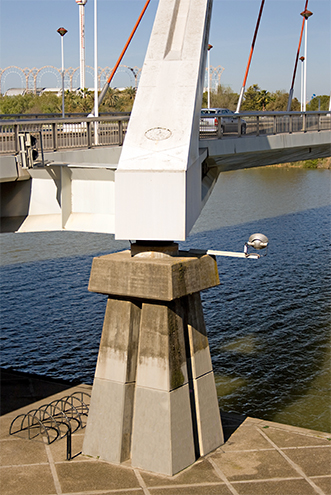Puente de la Barqueta, Sevilla, detalle, by jmhdezhdez