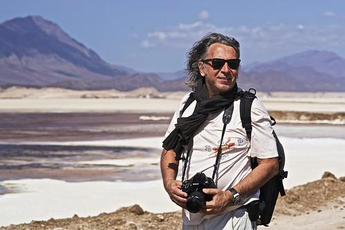 Andrea, Italian photographer, Assal Lake, Djibouti