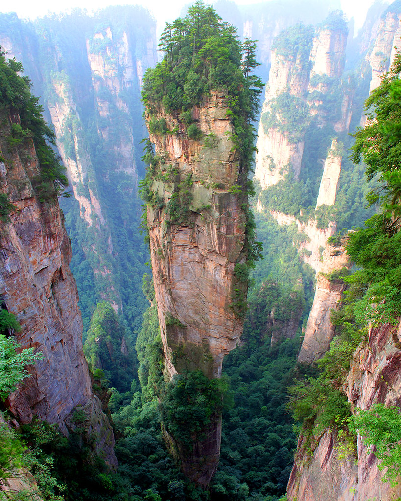 China tianzi mountains