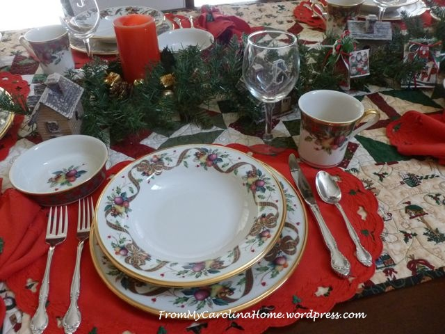 Christmas Table 2014 - 1