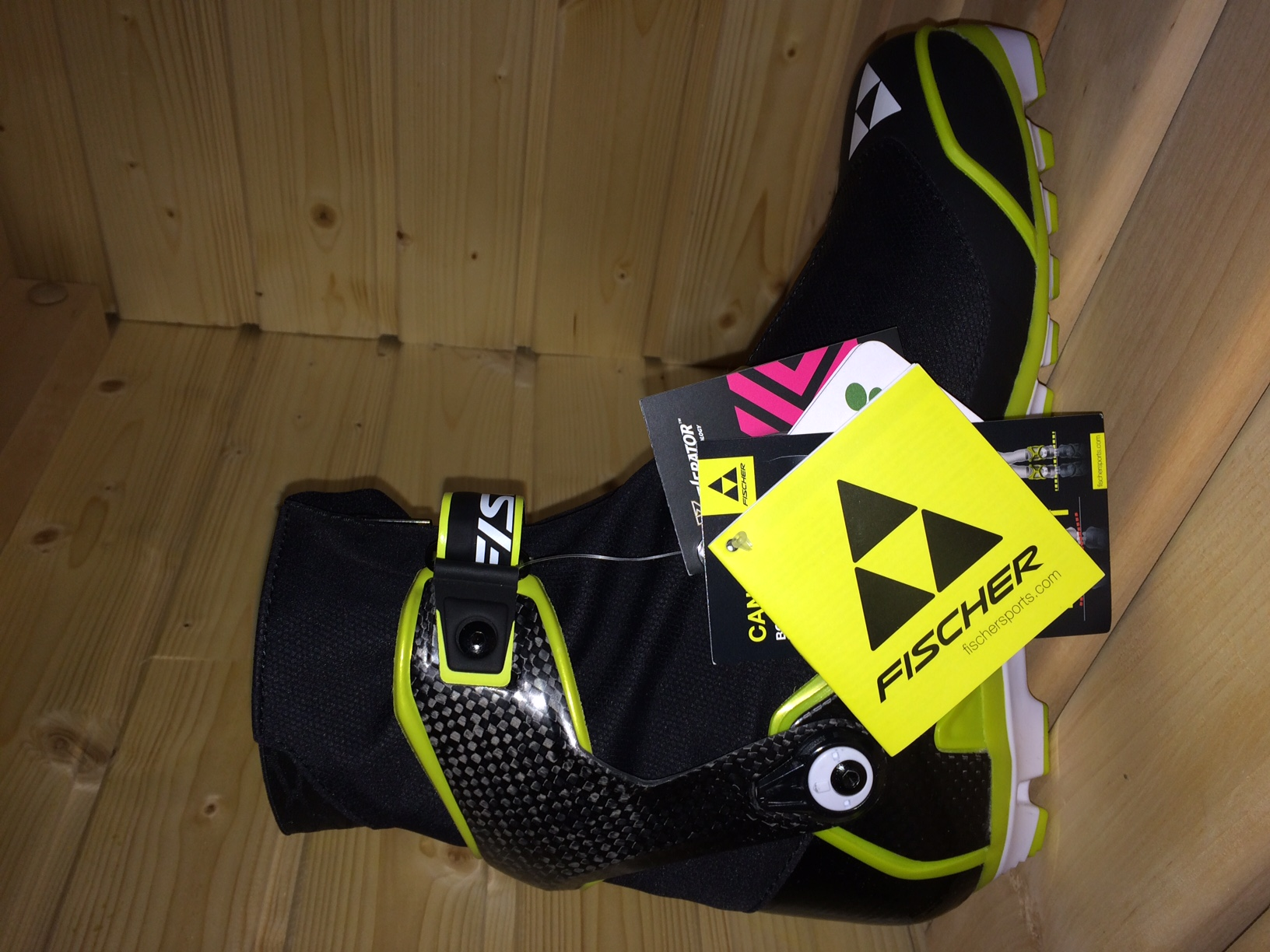 Nové závodní běžecké boty 14 15 Fischer SKATE vel. - Bazar - Běžky.net 68a7aeab28e