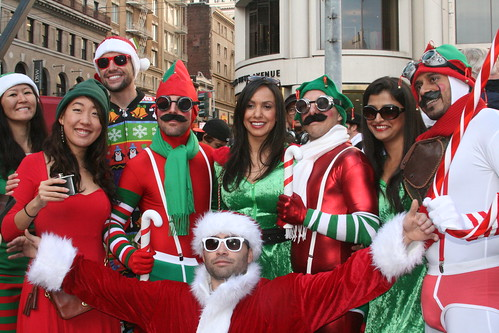 SF Santacon : Group Photo