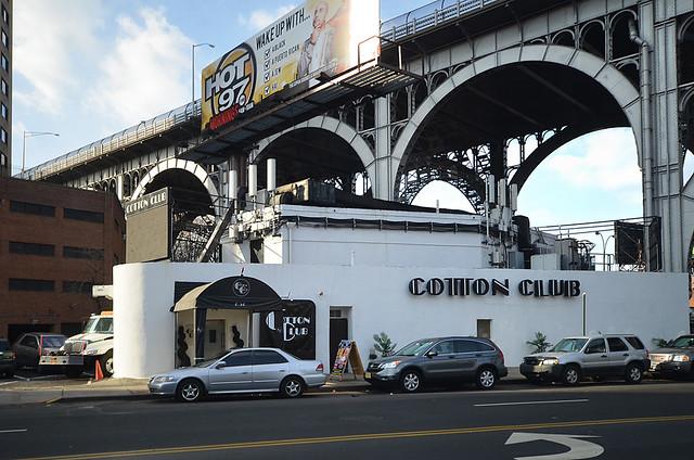 Cotton Club en el barrio de Harlem