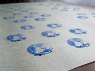 snow globe packing paper