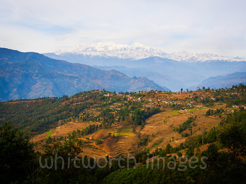 nepal houses cloud mountains nature beauty rural landscape asia village terraces scenic hills valley layers himalaya range himalayas gorkha indiansubcontinent tanahun manasalu