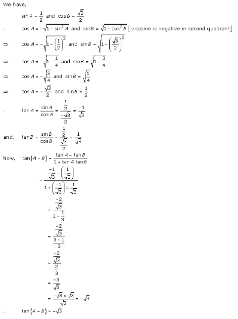 RD-Sharma-Class-11-Solutions-Chapter-7-Trigonometric-Ratios-Of-Compound-Angles-Ex-7.1-Q-6-i