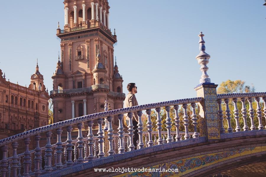 Magestuosa Plaza de España, Sevilla