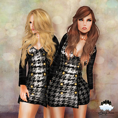 [:: JesyDream ::] Whore Couture Leather Dress for WCF4