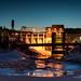 Barrage Chicoutimi la nuit by Turkian