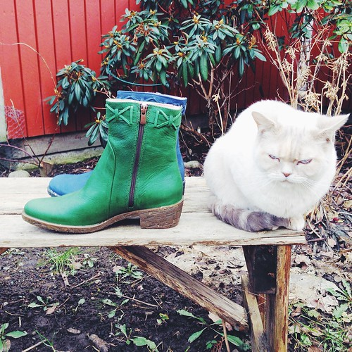 el naturalista green and blue boots, feb - march 2015