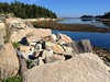 A jumble of downeast granite