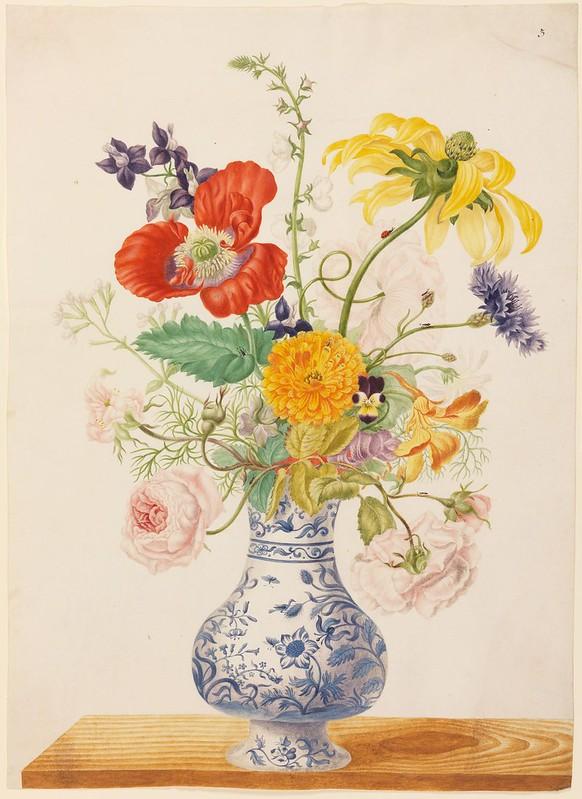 Een Bloem Pot (Eine Blumenvase) a