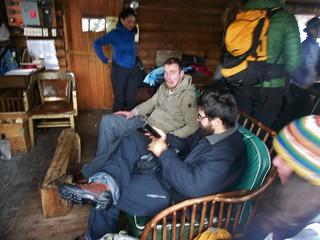 Inside the CMC Cabin - John Joking Around
