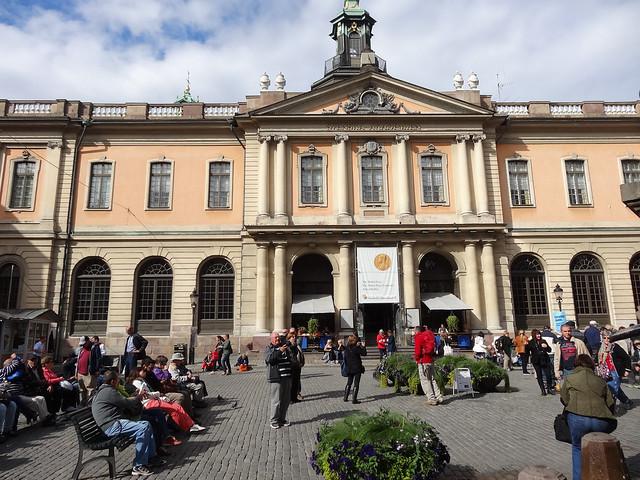 L'Académie suédoise, Stockholm (Suède)
