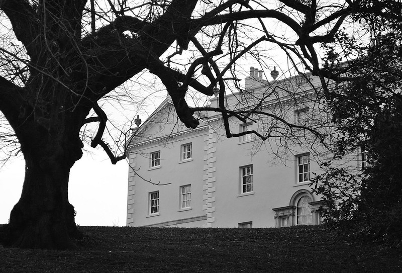 Saltram House, a sneaky look from the back