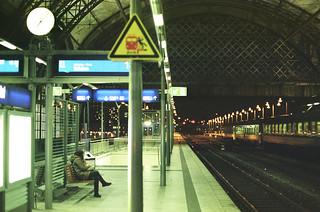 Dresden trainstation