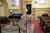 Wormser Synagoge mit Blick auf den Aron ha-Qodesch