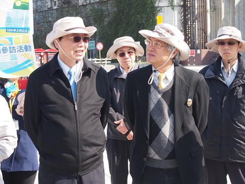 內政部長和立委邱文彥等人宣布《濕地保育法》正式施行。(攝影:葉人豪)