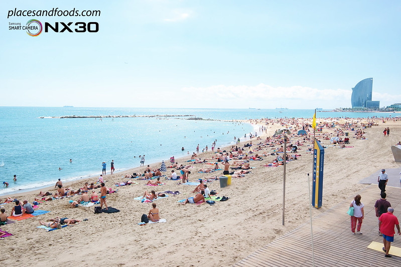 barcelona Playa de Sant Sebastià Beach W Barcelona